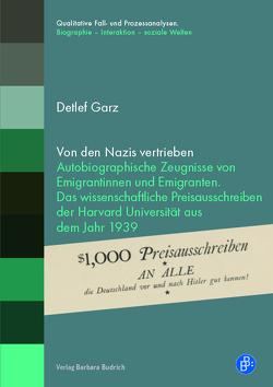 Von den Nazis vertrieben von Garz,  Detlef