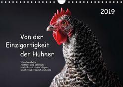 Von der Einzigartigkeit der Hühner (Wandkalender 2019 DIN A4 quer) von Peters,  Birte