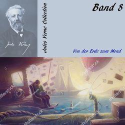 Von der Erde zum Mond von Gabor,  Karlheinz, Verne,  Jules