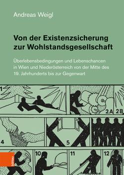 Von der Existenzsicherung zur Wohlstandsgesellschaft von Weigl,  Andreas