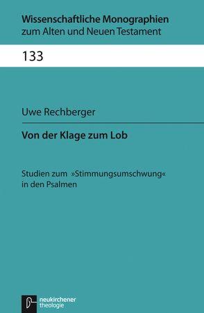 Von der Klage zum Lob von Breytenbach,  Jan Cillers Cillers, Janowski,  Bernd, Kratz,  Reinhard Gregor, Lichtenberger,  Hermann, Rechberger,  Uwe