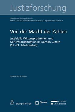 Von der Macht der Zahlen von Aerschmann,  Stephan