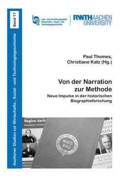 Von der Narration zur Methode von Katz,  Christiane, Thomes,  Paul