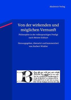 Von der wirkenden und möglichen Vernunft von Winkler,  Norbert