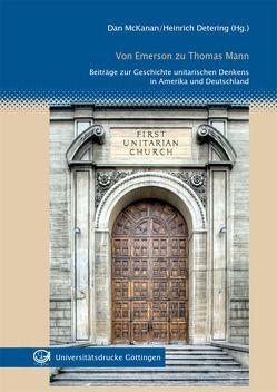 Von Emerson zu Thomas Mann von Detering,  Heinrich, McKanan,  Dan