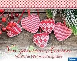 Von ganzem Herzen fröhliche Weihnachtsgrüße