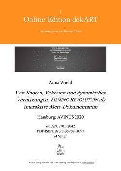 Von Knoten, Vektoren und dynamischen Vernetzungen. von Wiehl,  Anna