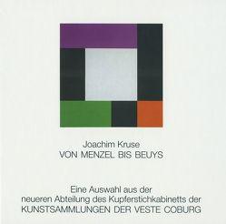 Von Menzel bis Beuys von Kruse,  Joachim, Leibing,  Klaus