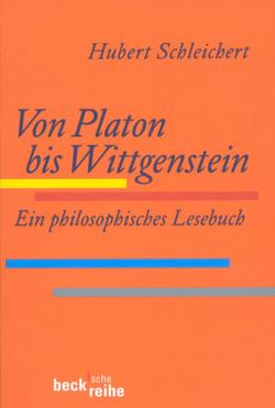 Von Platon bis Wittgenstein von Schleichert,  Hubert