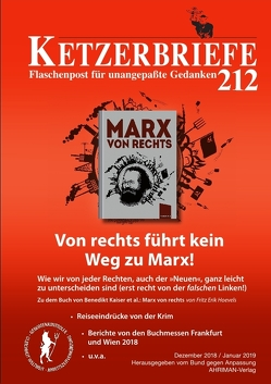 Von rechts führt kein Weg zu Marx! von Hoevels,  Fritz Erik, Reißner,  Simone