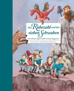 Von Rübezahl und den Sieben Schwaben von Guggenmos,  Josef, Korthues,  Barbara