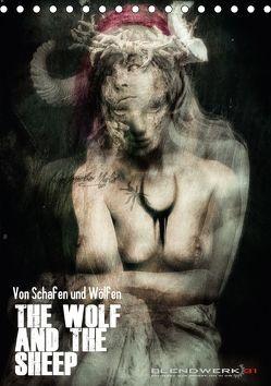Von Schafen und Wölfen – The Wolf and the Sheep (Tischkalender 2018 DIN A5 hoch) von Blendwerk31,  k.A.
