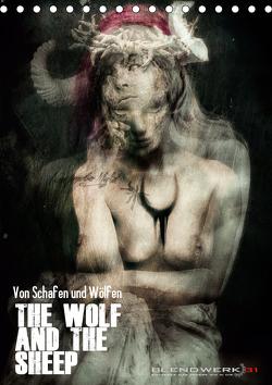 Von Schafen und Wölfen – The Wolf and the Sheep (Tischkalender 2021 DIN A5 hoch) von Blendwerk31