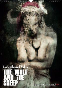 Von Schafen und Wölfen – The Wolf and the Sheep (Wandkalender 2019 DIN A3 hoch) von Blendwerk31
