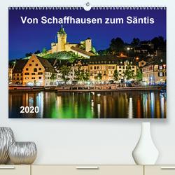 Von Schaffhausen zum Säntis (Premium, hochwertiger DIN A2 Wandkalender 2020, Kunstdruck in Hochglanz) von ap-photo