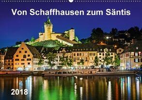Von Schaffhausen zum Säntis (Wandkalender 2018 DIN A2 quer) von ap-photo