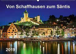 Von Schaffhausen zum Säntis (Wandkalender 2019 DIN A2 quer) von ap-photo
