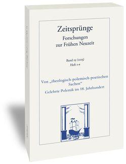 """Von """"theologisch-polemisch-poetischen Sachen"""" von Bremer,  Kai, Spoerhase,  Carlos"""