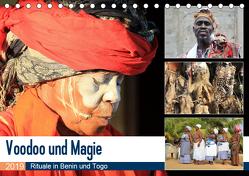 Voodoo und Magie (Tischkalender 2019 DIN A5 quer) von Herzog,  Michael