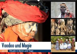 Voodoo und Magie (Wandkalender 2019 DIN A2 quer) von Herzog,  Michael