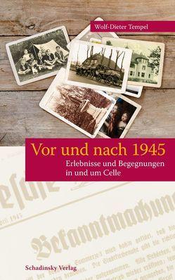 Vor und nach 1945 von Tempel,  Wolf-Dieter