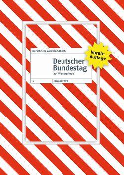 Vorabauflage Kürschners Volkshandbuch Deutscher Bundestag von Holzapfel,  Andreas