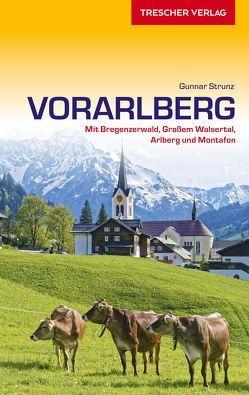 Reiseführer Vorarlberg von Strunz,  Gunnar