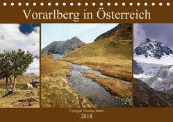 Vorarlberg in Österreich (Tischkalender 2018 DIN A5 quer) von Deter,  Thomas