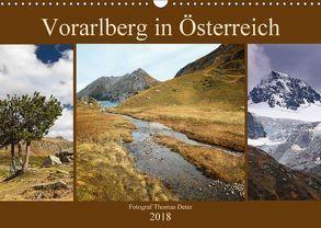 Vorarlberg in Österreich (Wandkalender 2018 DIN A3 quer) von Deter,  Thomas