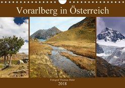 Vorarlberg in Österreich (Wandkalender 2018 DIN A4 quer) von Deter,  Thomas