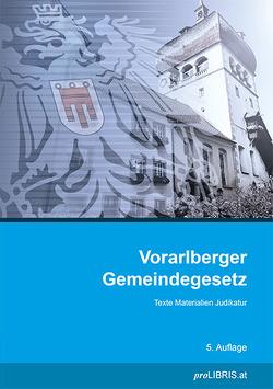 Vorarlberger Gemeindegesetz von proLIBRIS VerlagsgesmbH