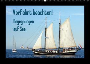 Vorfahrt beachten! – Begegnungen auf See (Wandkalender 2018 DIN A2 quer) von Stoerti-md