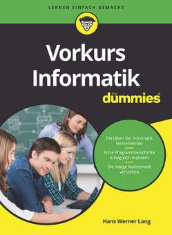 Vorkurs Informatik für Dummies von Lang,  Hans Werner