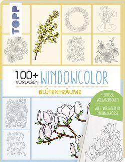 Vorlagenmappe Windowcolor – Blütenträume von frechverlag