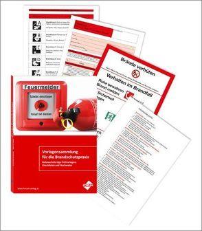 Vorlagensammlung für die Brandschutzpraxis von Hoyer-Weber,  Werner