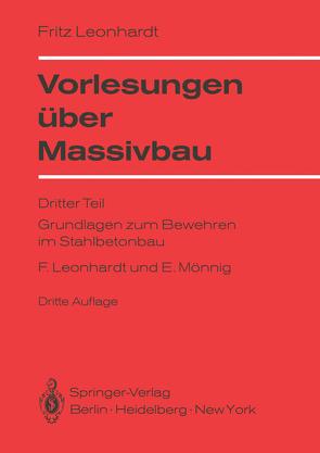 Vorlesungen über Massivbau von Leonhardt,  Fritz, Mönnig,  Eduard