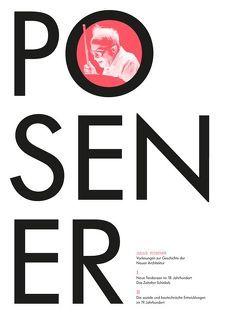 Vorlesungen zur Geschichte der Neuen Architektur von Posener,  Julius