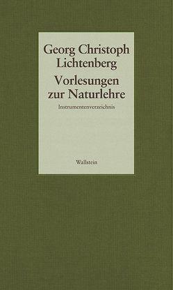 Vorlesungen zur Naturlehre von Lichtenberg,  Georg Christoph