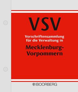Vorschriftensammlung für die Verwaltung Mecklenburg-Vorpommern – VSV von Freund,  Thomas