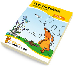 Vorschulblock – Schwungübungen ab 5 Jahre von Dengl,  Sabine, Maier,  Ulrike