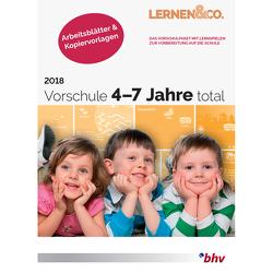 Vorschule 4-7 Jahre total 2018 Arbeitsblätter & Kopiervorlagen