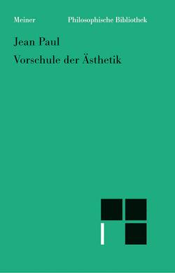 Vorschule der Ästhetik von Henckmann,  Wolfhart, Paul,  Jean