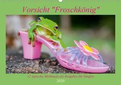 Vorsicht: Froschkönig (Wandkalender 2020 DIN A2 quer) von Travelpixx.com
