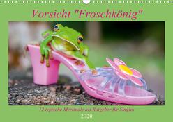 Vorsicht: Froschkönig (Wandkalender 2020 DIN A3 quer) von Travelpixx.com