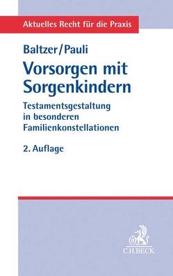 Vorsorgen mit Sorgenkindern von Baltzer,  Peter, Reisnecker,  Manfred