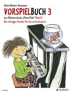 Vorspielbuch 3 von Heumann,  Hans Günter, Schürmann,  Andreas