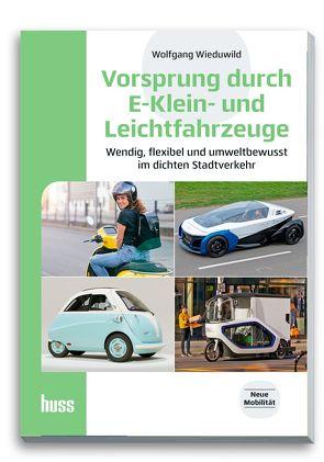 Vorsprung durch E-Klein- und Leichtfahrzeuge von Wieduwild,  Wolfgang