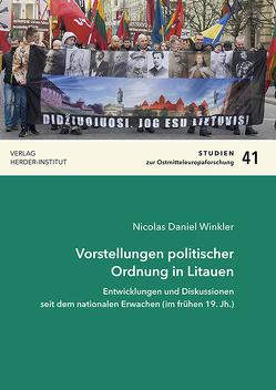 Vorstellungen politischer Ordnung in Litauen von Winkler,  Nicolas Daniel