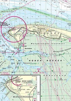 Vortrapptief und Hörnumtief von Bundesamt für Seeschifffahrt und Hydrographie