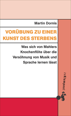 Vorübung zu einer Kunst des Sterbens von Dornis,  Martin
